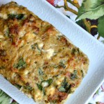 Greek Chicken Meatloaf with Spinach & Feta1