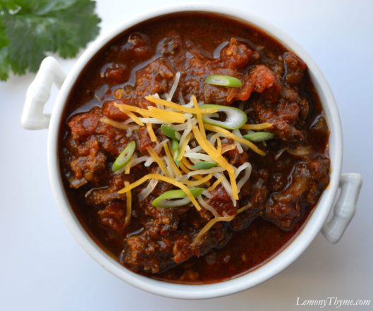 Our Best Chili Yet | LemonyThyme.com