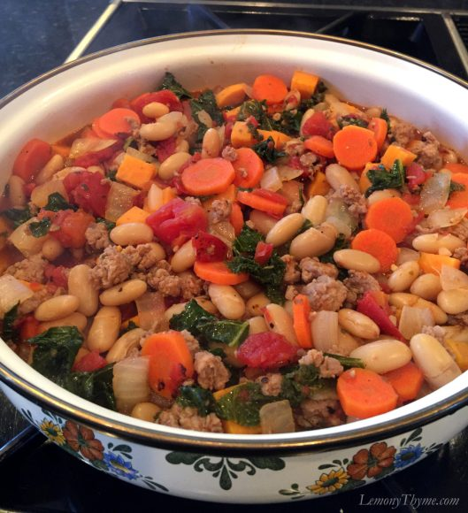 Sausage & Thyme Cassoulet Recipe1