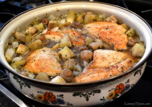 Greek Chicken & Eggplant Stew2