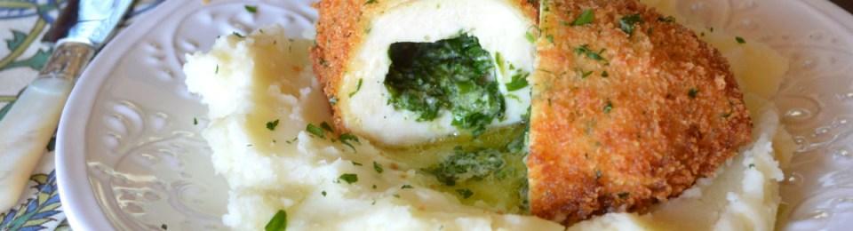 Chicken Kiev with Fresh Herb & Garlic Butter
