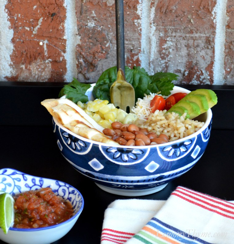 Healthy Southwest Burrito Bowl4