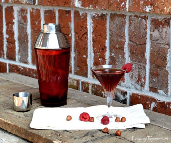 Nuts & Berries Martini