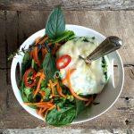 Thai Basil Egg White Omelet Bowl10