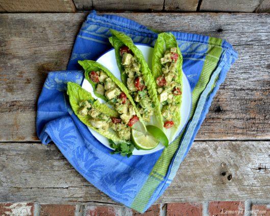 Avocado & Chicken Salad Boats3