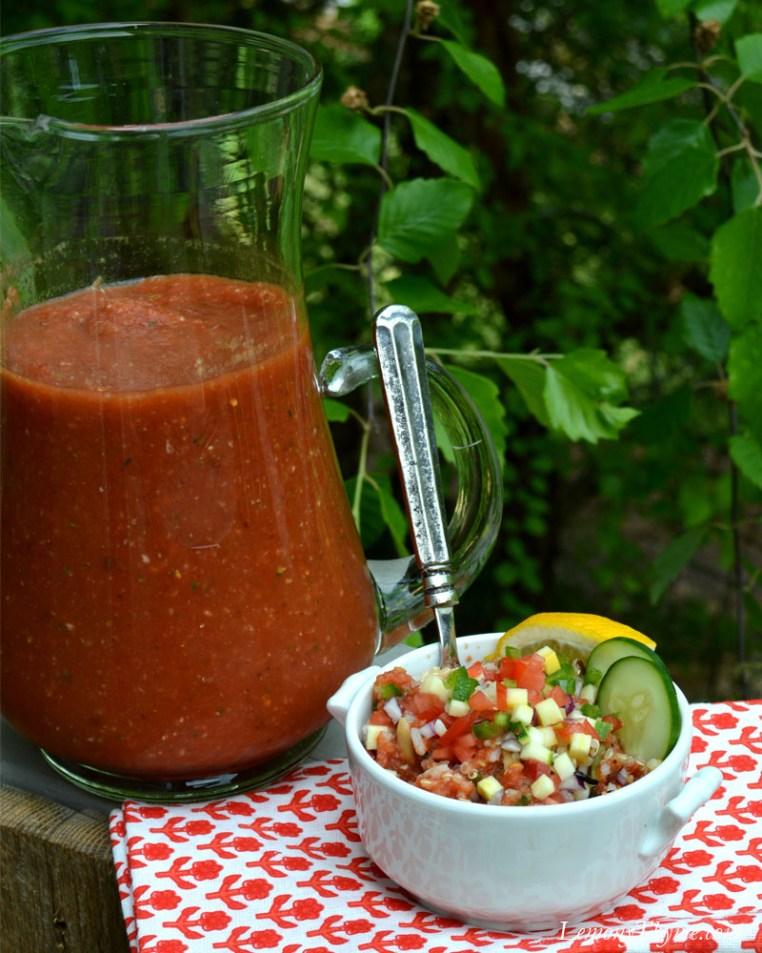 Gazpacho Grain Bowl with Confetti Veggies3