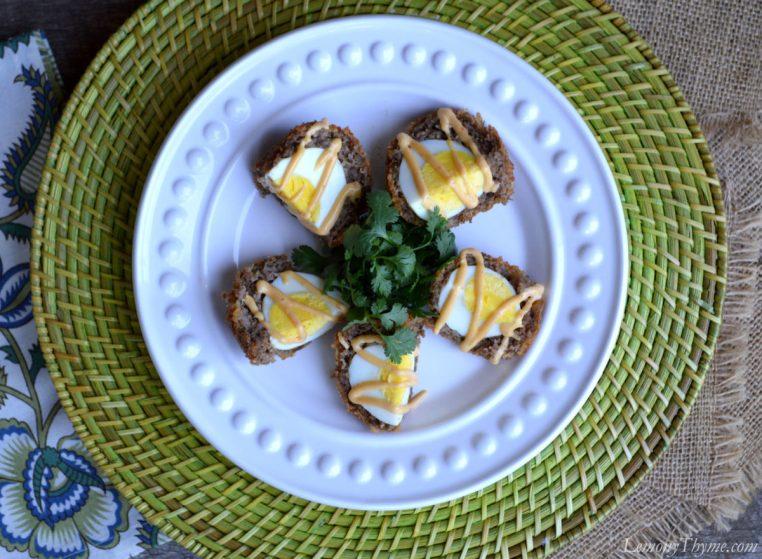 Scotch Eggs with Sriracha Mayo2