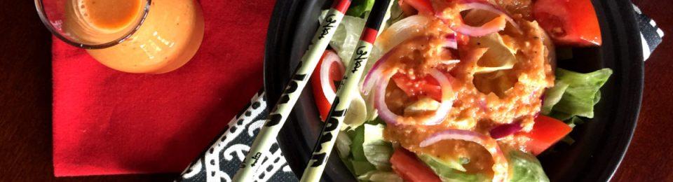 Japanese Steak House Ginger Salad Dressing