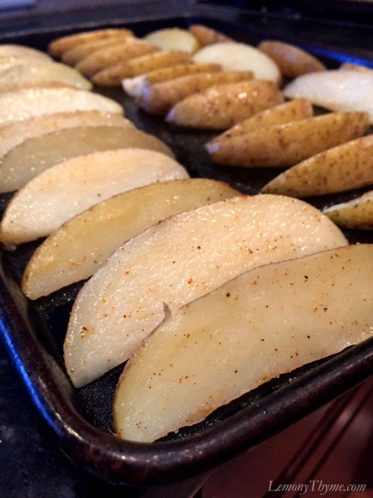 Crispy Baked Potato Wedges. Pub Fries are great with dips or layered nacho style.