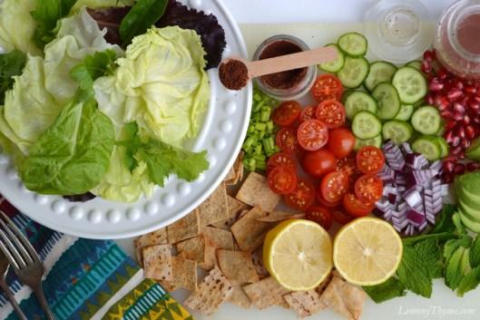 Fattoush Salad3