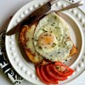 Lightened Up Croque Madame