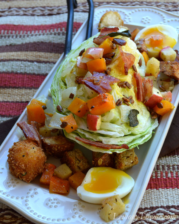 Autumn Thyme Wedge Salad4