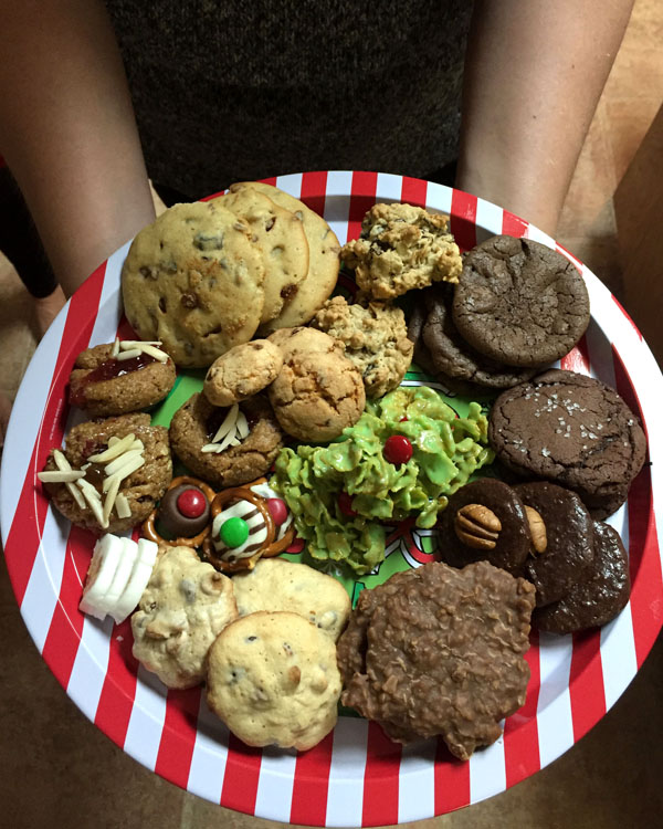 Cookie Exchange Tray