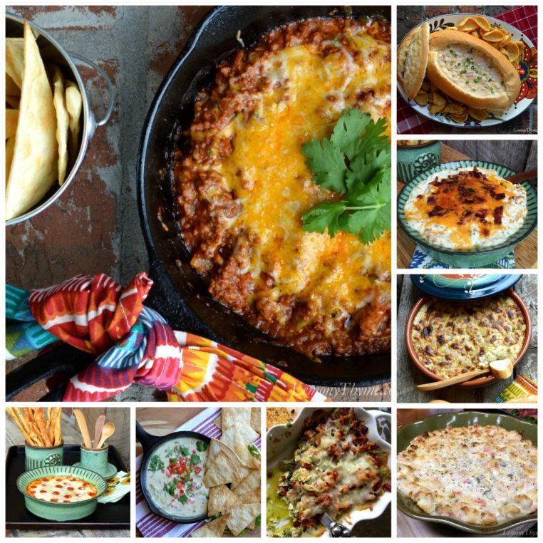Hot Party Dips {Super Bowl Worthy}