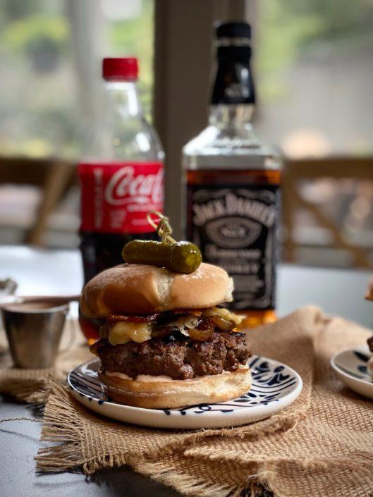 Ultimate Jack & Coke Bacon Cheeseburger