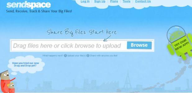cara mengirim file besar