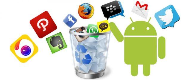 Hapuslah Aplikasi dan Game