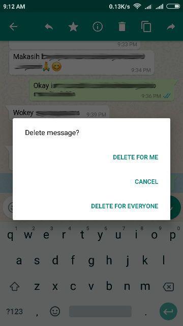 Cara Tarik Pesan WhatsApp Yang Sudah Terkirim dengan mudah