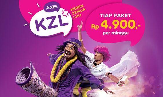 Paket Internet KZL Axis