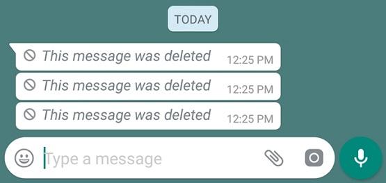 Cara Mudah Baca Pesan WhatsApp yang Dihapus Pengirim