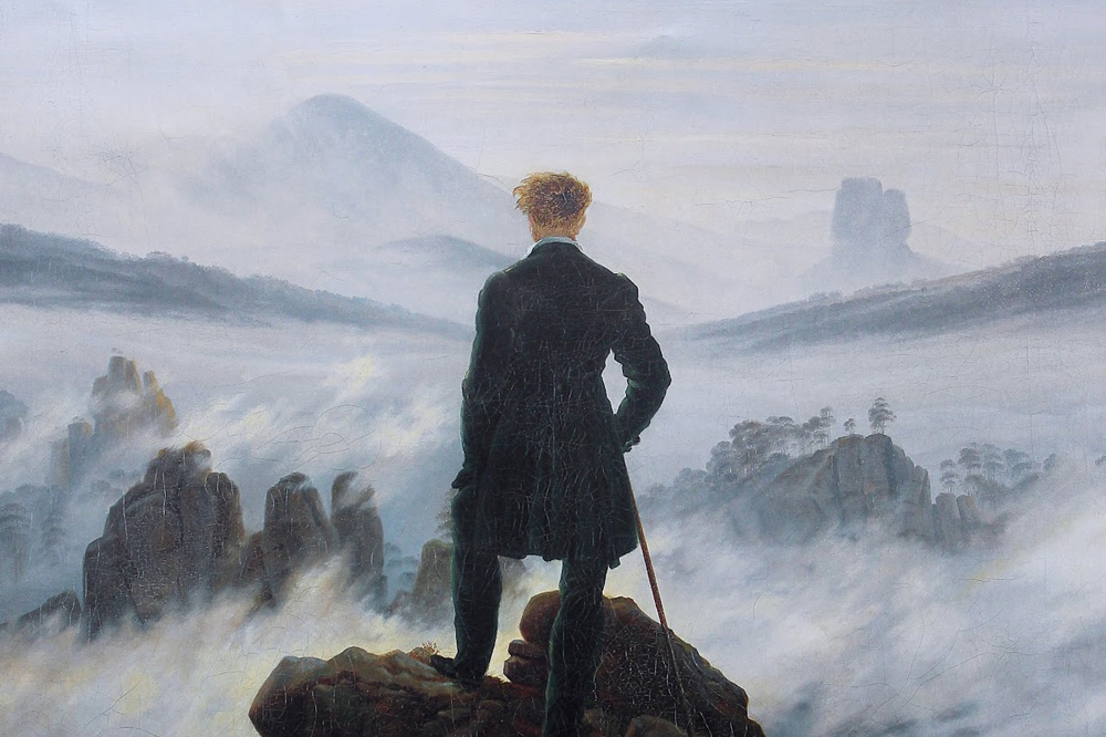 Image result for painting of man aspiring toward greatness