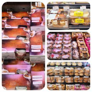 Laskiainen ja K-supermarket Lempola