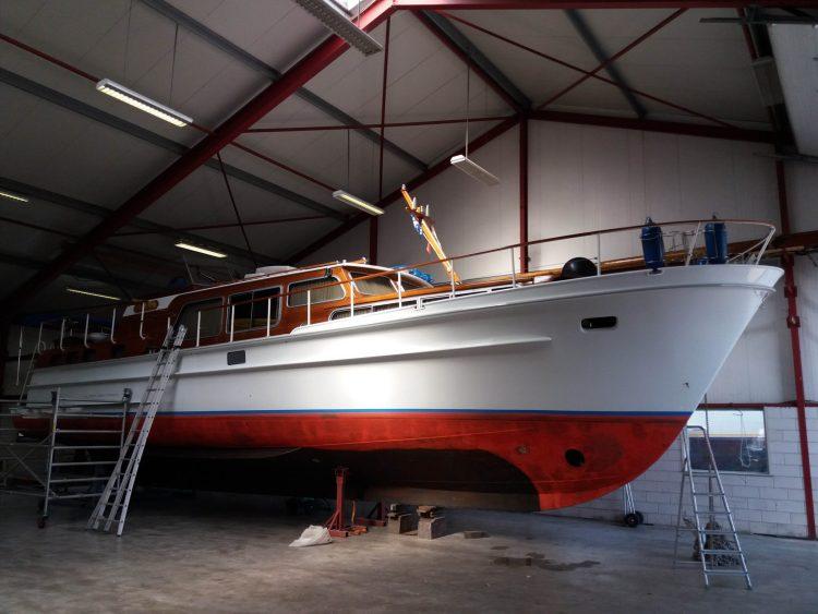 Winterstalling boot binnenstalling