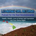 Podcast Album Art Lemurian Girl Returns