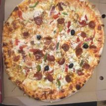 Pizza louisiane