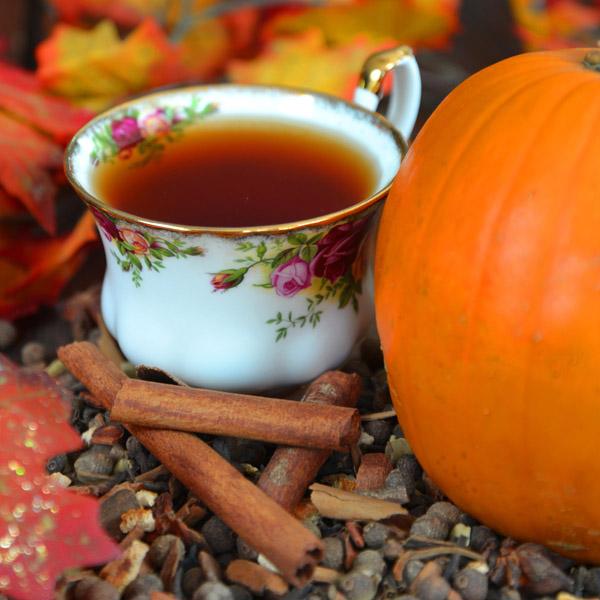 пряный чёрный чай