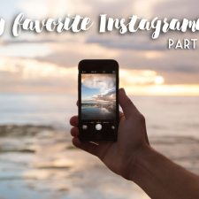 My favorite Instagramers – Part I