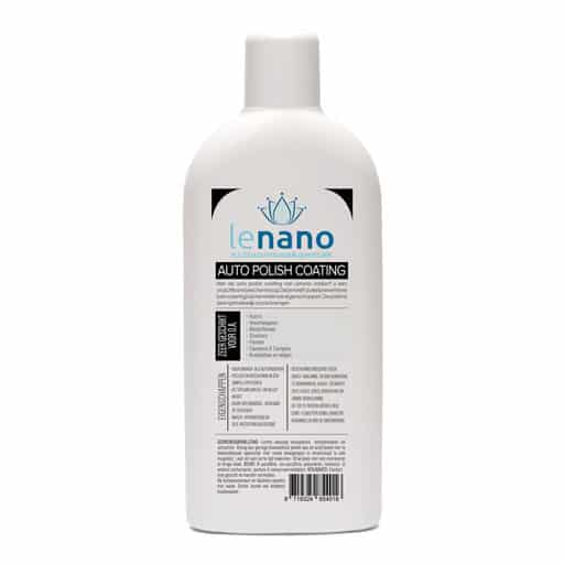 Lenano Auto Polish Nano Coating back