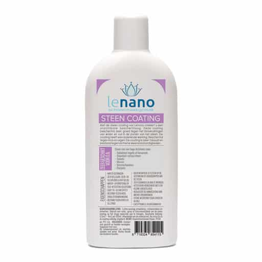 Lenano Steen Nano Coating back
