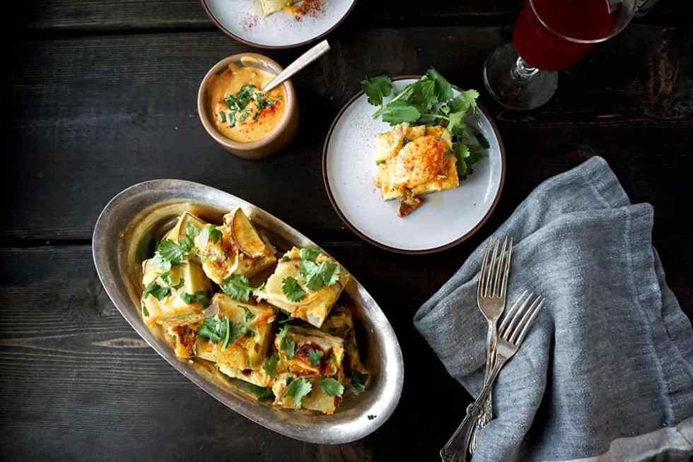 lenasktichenblog Tortilla Española plated2