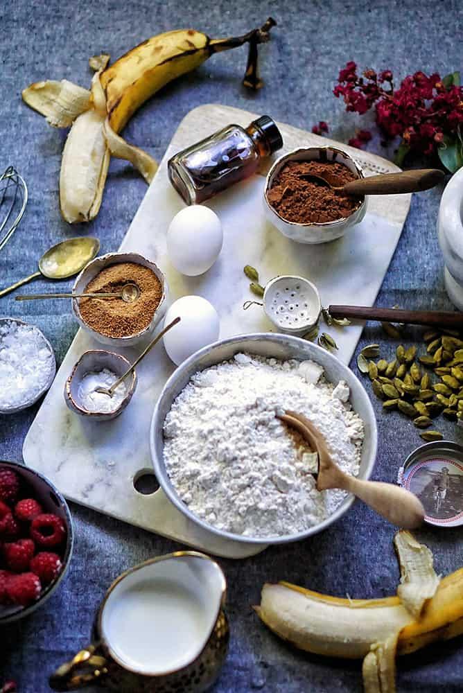 chocolate waffles_lenaskitchenblog_ingredients