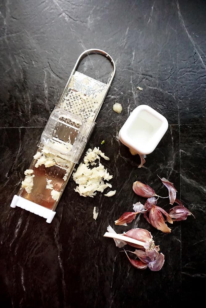 one pan pasta_lenaskitchen ingredients_garlic
