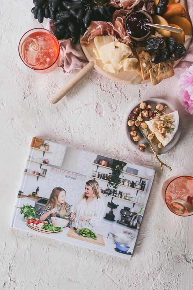 MY FIRST COOKBOOK with RHUBARB MOCKTAIL