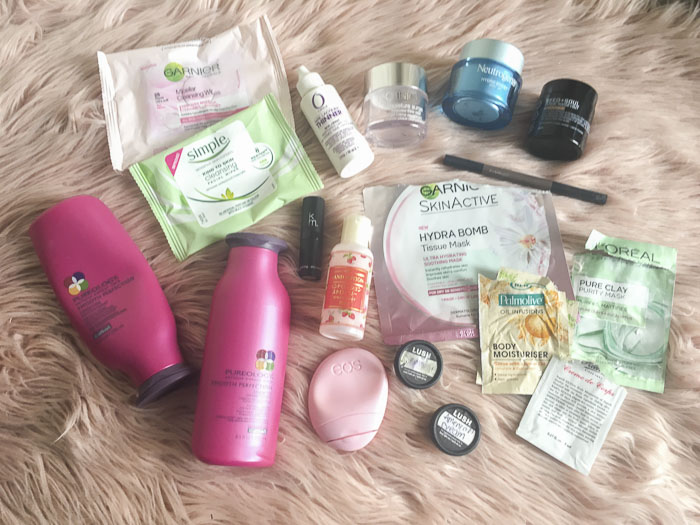 All used up - empties from Pureology, Neutrogena, MAC and more