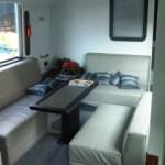 Interior Eksklusif Bus Pariwisata Trac