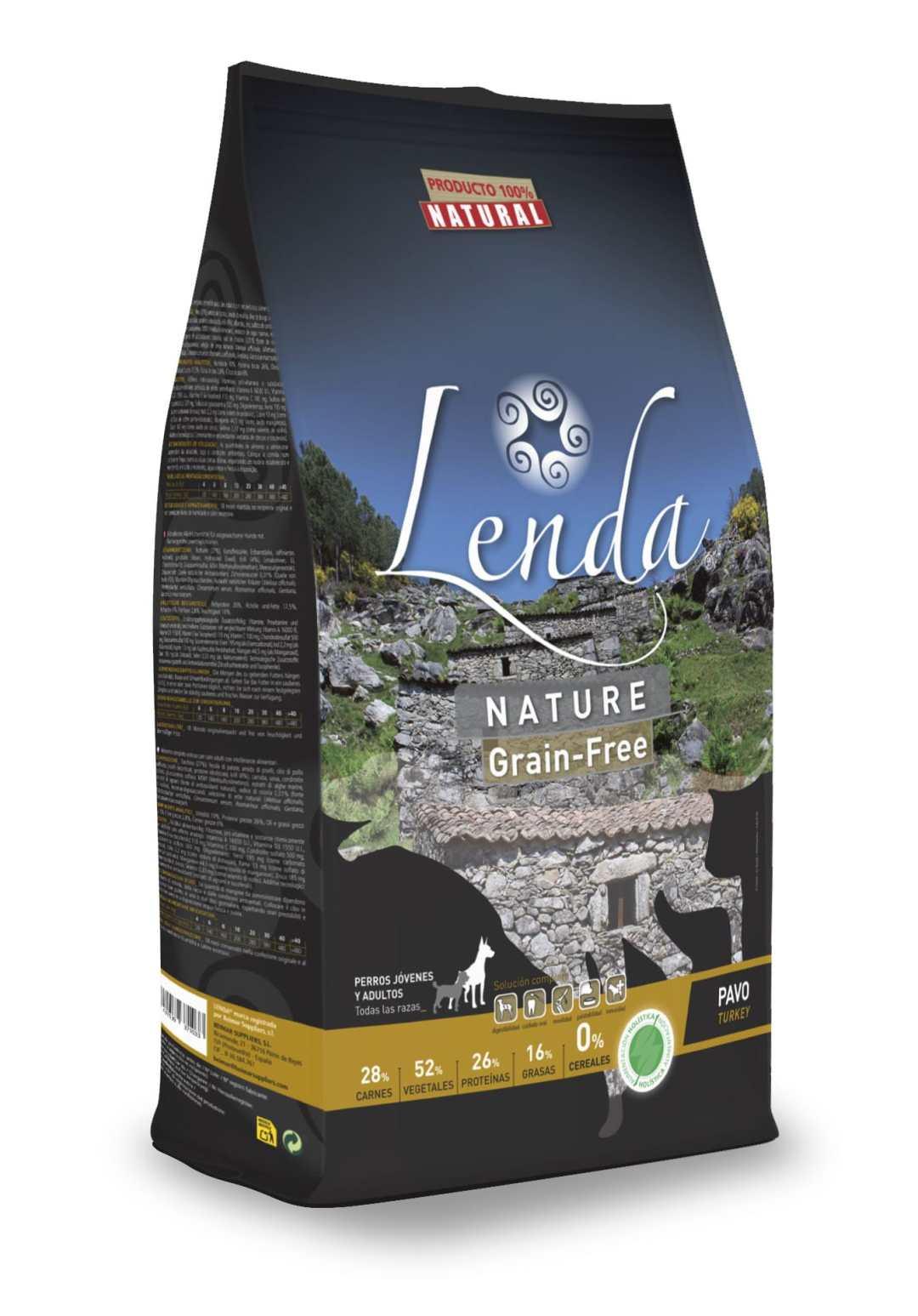 Pienso pavo natural grain free