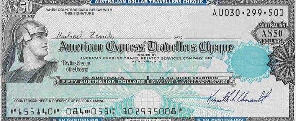 Travelers check