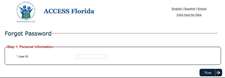My Access Florida Login