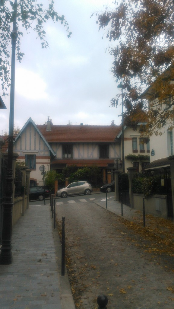 These little houses make up a neighborhood called La Petite Alsace.