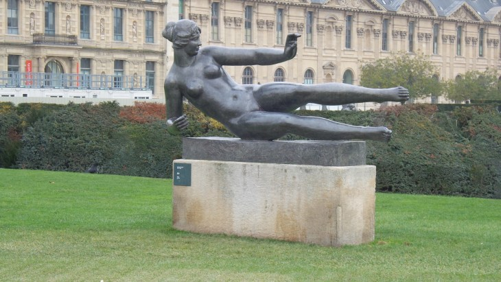 """""""Is this Rodin, what do you think?"""", Gergö asked. """"Looks more like Pilates, actually."""" (I'm on a roll here)"""