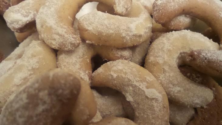 Des croissants de la vanille