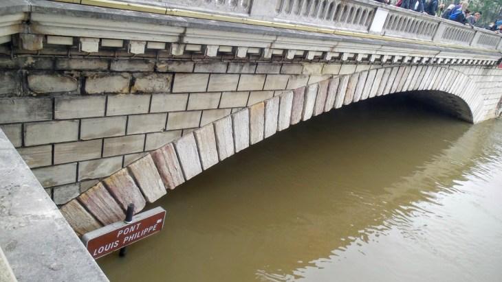 flooded Seine