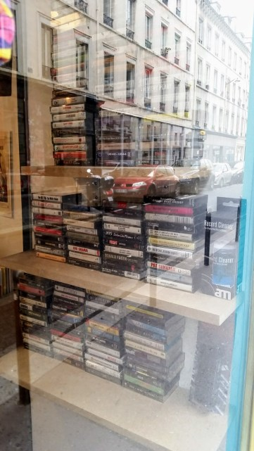 There's also a record store in the 13th district that actually sells cassette tapes.