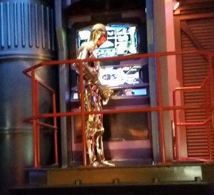 a golden humanoid robot