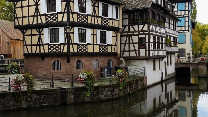 Another pretty view of little France across the river Ill
