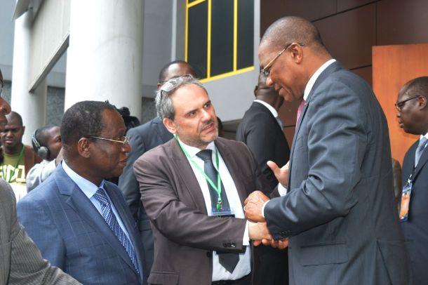 Monsieur Bruno Nabagné Koné - Ministre de l'Economie Numérique et de la Poste, Porte-parole du Gouvernement de Cote d'iVoire